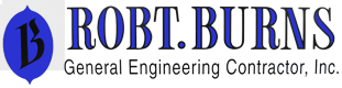 Robert Burns Construction , Inc. Logo